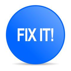 fix it internet blue icon
