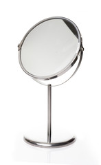 Magnify Mirror White background