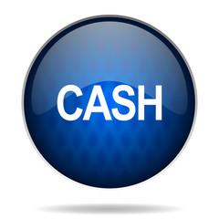 cash internet blue icon