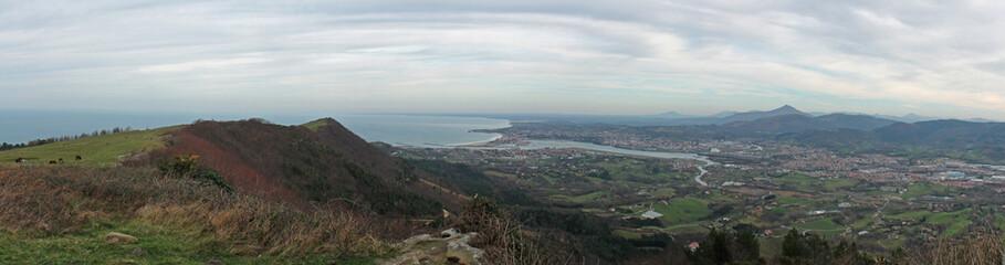 Panorama depuis Jaizkibel