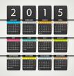 Calendar 2015 - 70787188