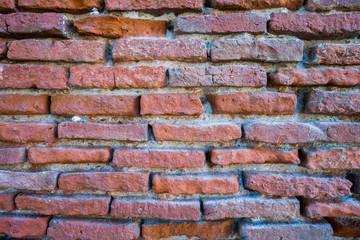 Mur briques rouge