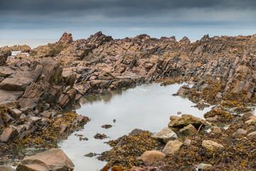 Basalt rock formations