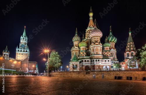 Foto op Plexiglas Oost Europa Собор Василия Блаженного на Красной площади в Москве