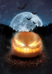Halloween Jack o Lantern Flyer