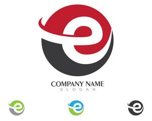E Logo Template 2