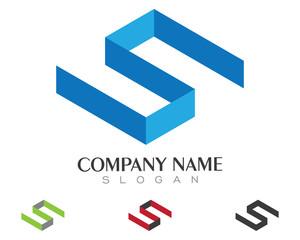 S Logo Template 4
