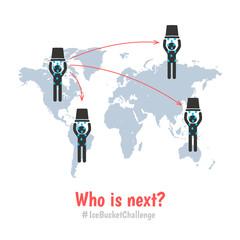 als ice bucket challenge concept