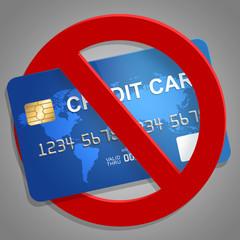 Divieto di carta di credito