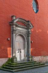 Neuss - Eingang St. Sebastianus