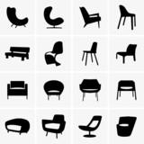 Modern armchairs