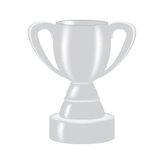 silver cup for the second place