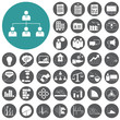 Planning and business strategy icons set. Vector Illustration ep