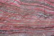 Leinwandbild Motiv Nordamerikanisches Bändereisenerz