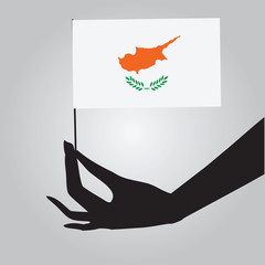 Flag of the state of Cyprus