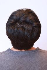 30代男性の後頭部
