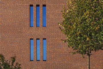 Hausfassade Backsteinmauer © Matthias Buehner