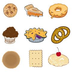 Pastry collection