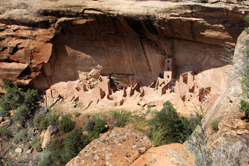 Mesa Verde National Park - Square Tower House