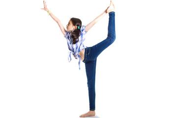 bambina ginnastica artistica