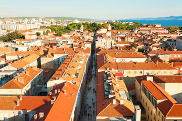 Blick über Zadar, Kroatien