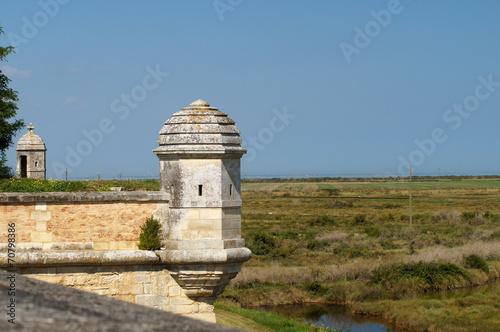 Papiers peints Fortification Remparts de Brouage et ses marais
