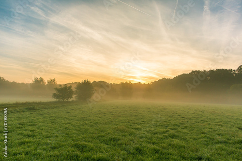 canvas print picture Sonnenaufgang