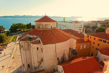 Blick über Zadar, Sveti Donat, Kroatien