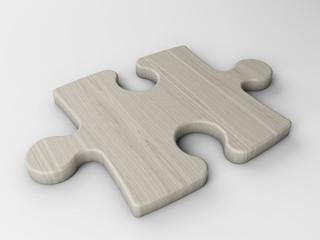 piece wooden puzzle