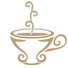 Stylized image of a teacup