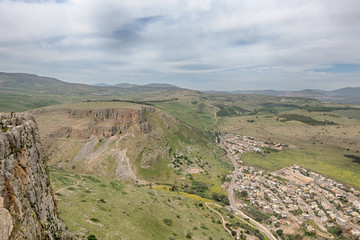 Arbel Cliffs, Jesus Trail, Arbel National Park, Israel
