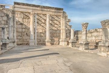 White Synagogue, Capernaum, Israel