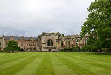 lawn at  Bishop Palace,Wells
