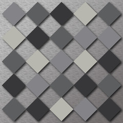Gray background of squares