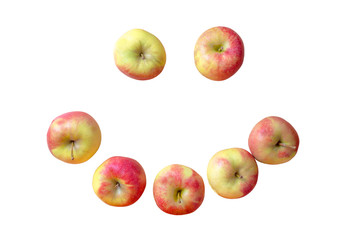 Äpfel - Lächeln