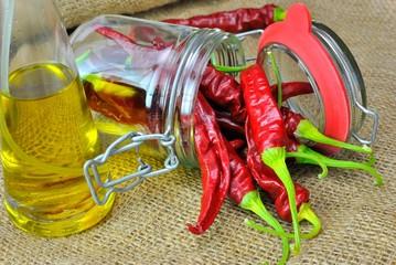 Olio e peperoncini