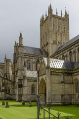 Cathedral side, Wells