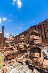 Brickbat set in the Ruins