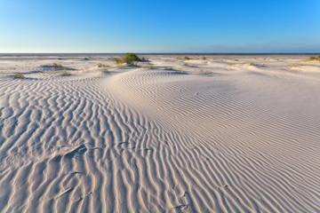 wind texture on sand dune
