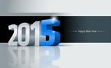 Fototapety 2015 Happy New Year Card