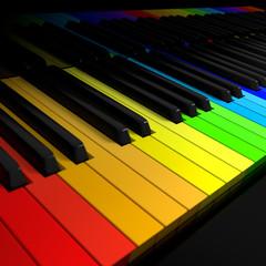 Symphony of colors concept