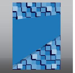 Business background flyer. Vector Design Concept