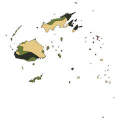 Camo texture in map - Fiji