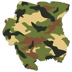 Camo texture in map - Suriname