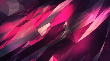 triangular crystalline background animation