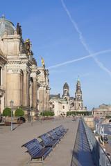 Dresden - Germany - Bruehlsche Terrasse