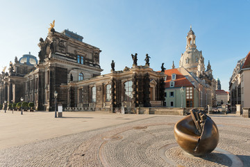 Dresden - Germany - Church of our lady