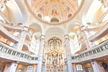 Dresden - Germany - Church painting