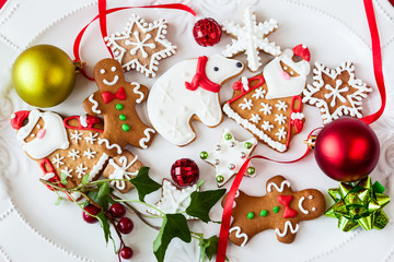 gingerbread cookies  and candies