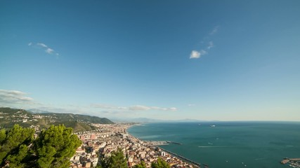 Time Lapse golfo di Salerno